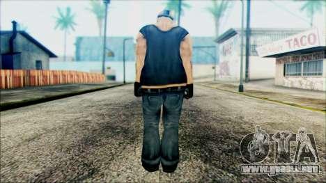 Manhunt Ped 11 para GTA San Andreas segunda pantalla
