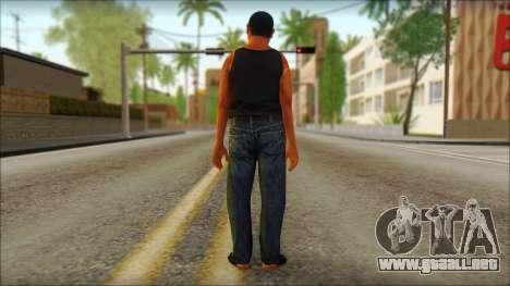 GTA 5 Ped 1 para GTA San Andreas segunda pantalla