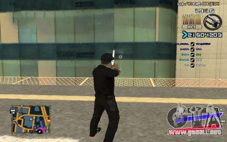 C-HUD by Radion edited SampHack para GTA San Andreas segunda pantalla