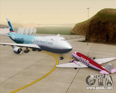 Boeing 747-8 Cargo Cathay Pacific Cargo para GTA San Andreas