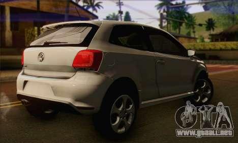 Volkswagen Polo GTi 2011 para GTA San Andreas left