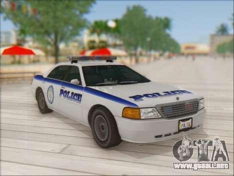 Admiral Police para visión interna GTA San Andreas