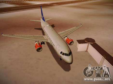 Airbus A319-132 Scandinavian Airlines para GTA San Andreas left