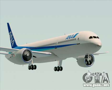 Boeing 787-9 All Nippon Airways para GTA San Andreas
