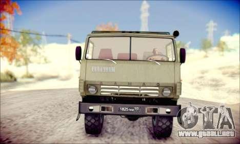 El KamAZ-6350 (APT) para GTA San Andreas left