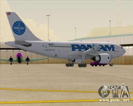 Airbus A310-324 Pan American World Airways para las ruedas de GTA San Andreas