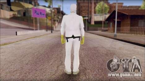 Doc with Radiation Protection Suit para GTA San Andreas segunda pantalla