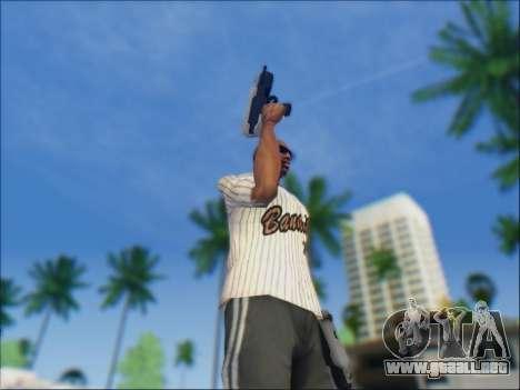 Uzi para GTA San Andreas sucesivamente de pantalla