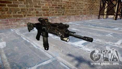 Automatic rifle Colt M4A1 ce digital para GTA 4