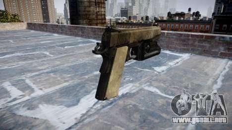 Pistola de Kimber 1911 Un ejército de fans de la para GTA 4 segundos de pantalla