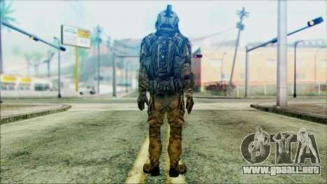 Soldados de equipo Fantasma 3 para GTA San Andreas segunda pantalla