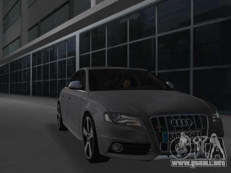 Audi S4 (B8) 2010 - Metallischen para GTA Vice City left