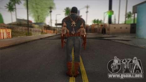 Captain America v1 para GTA San Andreas segunda pantalla