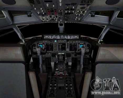 Boeing 737-89L Air China para GTA San Andreas interior