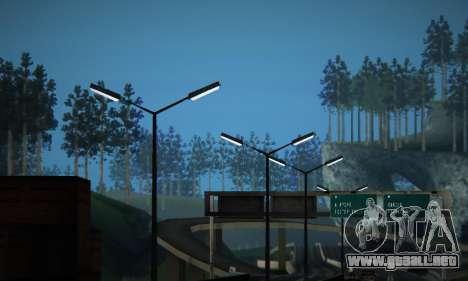 ENB Series by phpa v5 para GTA San Andreas octavo de pantalla