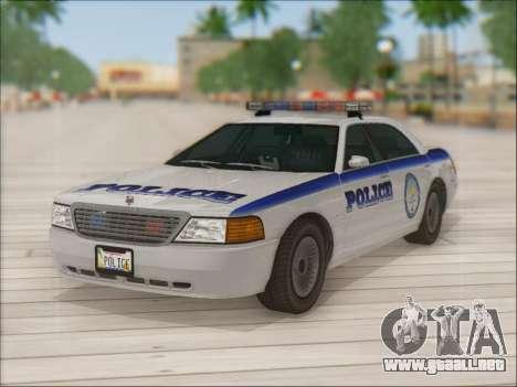 Admiral Police para el motor de GTA San Andreas