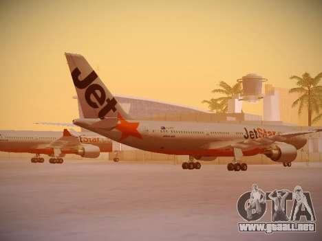 Airbus A330-200 Jetstar Airways para la visión correcta GTA San Andreas