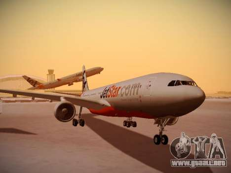 Airbus A330-200 Jetstar Airways para GTA San Andreas left