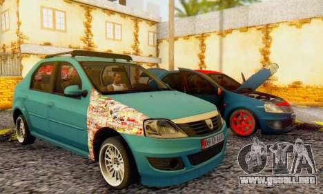 Dacia Logan 1.6 MPI Tuning para GTA San Andreas