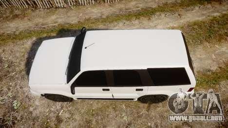 GTA V Albany Cavalcade para GTA 4 visión correcta