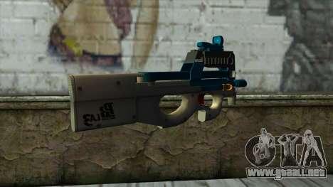 P90 from PointBlank v6 para GTA San Andreas segunda pantalla