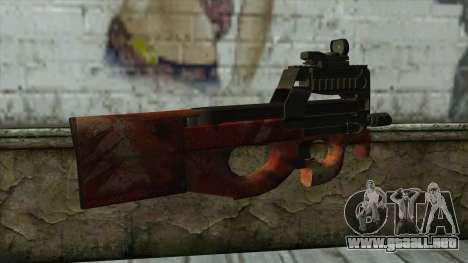 P90 from PointBlank v4 para GTA San Andreas segunda pantalla