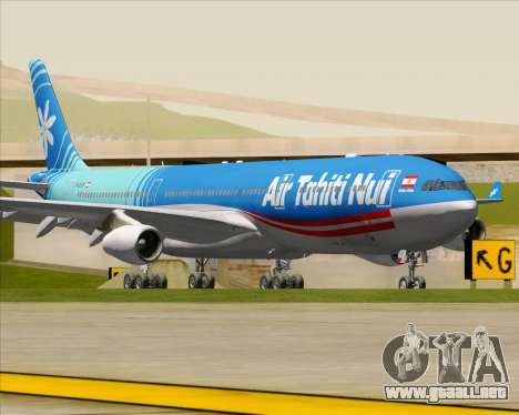 Airbus A340-313 Air Tahiti Nui para GTA San Andreas left