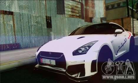 Nissan GT-R Muhammad Ali para GTA San Andreas