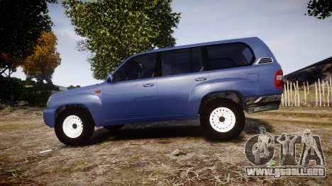 Toyota Land Cruiser para GTA 4 left