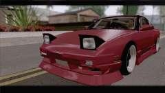 Nissan Silvia 240sx Ryan Tuerck para GTA San Andreas