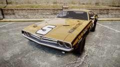 Dodge Challenger 1971 v2.2 PJ6 para GTA 4