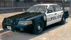 Ford Crown Victoria LCPD [ELS] Slicktop para GTA 4