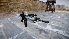 Automatic rifle Colt M4A1 calaveras
