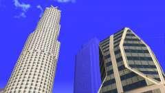 De texturas en HD de cuatro rascacielos en Los Santos para GTA San Andreas
