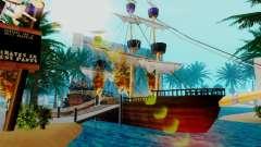 Nuevo barco pirata en Las Venturas