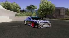 Nissan Silvia S14 Monster Energy para GTA San Andreas