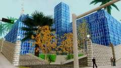 La textura de la pista de patinaje y un hospital de Los Santos para GTA San Andreas