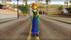 Princess Anna (Frozen) para GTA San Andreas
