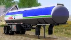 Remolque tanque Carro Copec para GTA San Andreas