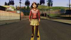 Klementine from Walking Dead para GTA San Andreas