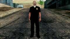 El oficial Carver de Escena