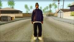 Eazy-E Blue Skin v1 para GTA San Andreas