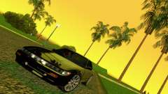 Nissan Silvia S13 RB26DETT Black Revel para GTA Vice City