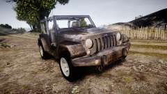Jeep Wrangler Unlimited Rubicon para GTA 4
