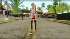 Sarah from Final Fantasy XIII para GTA San Andreas