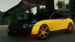 Bentley Continental GT Mansory para GTA San Andreas