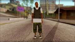 New Grove Street Family Skin v5 para GTA San Andreas