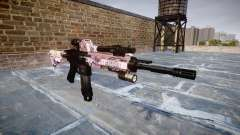 Automatic rifle Colt M4A1 kawaii