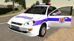 Ford Focus de Policía de la región de Nizhny Nov