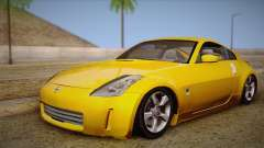 Nissan 350Z Turkey Tuned Drift para GTA San Andreas